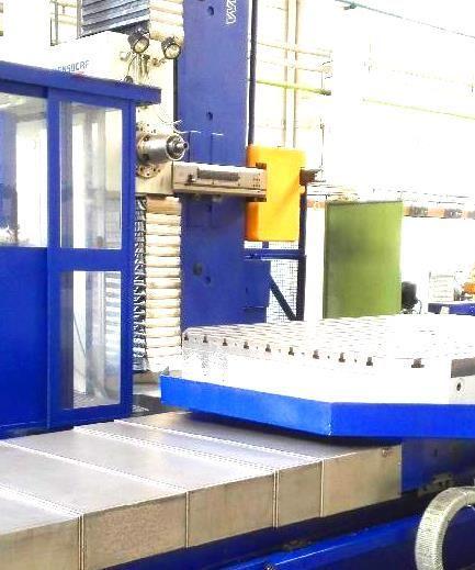 Horizontalbohrwerk TOS 150 CNC 2012