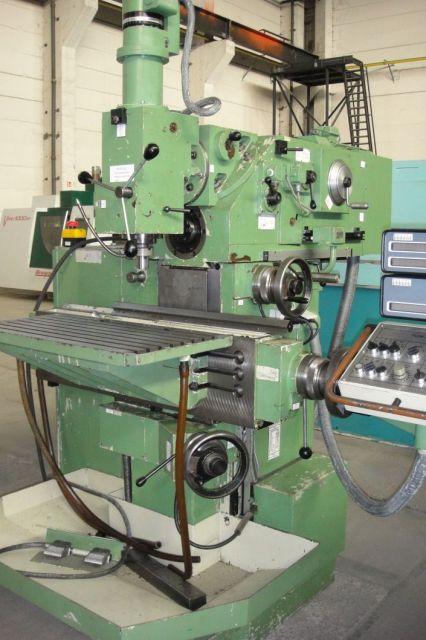 Werkzeugfräsmaschine AUERBACH FUW 315/8 1989