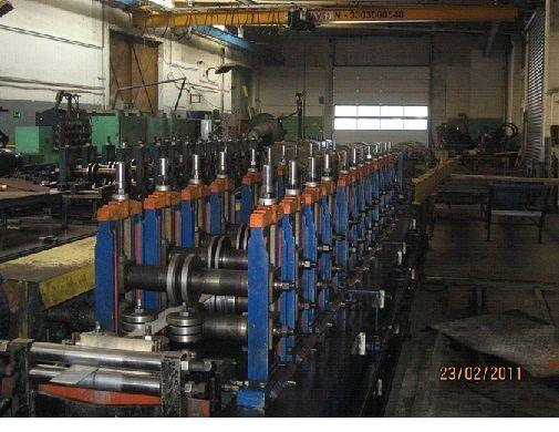 Sheet Metal Profiling Line SEN-FUNG/POLSKA SN-2 2004