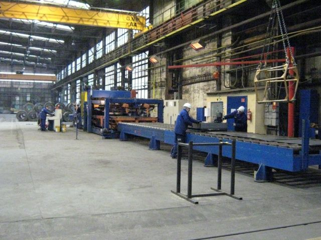 Transverse Cutting Line IRON SpA 2007