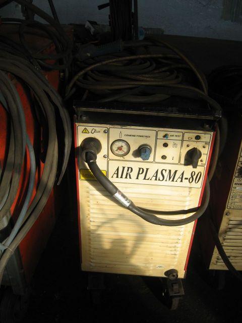 Przecinarka plazmowa 2D ESAB AIR PLASMA-80 2007