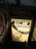 Tăiere cu plasmă 2d ESAB AIR PLASMA-80