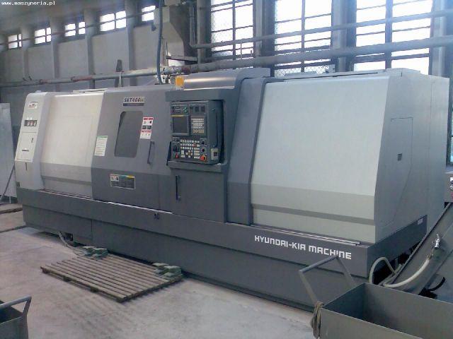 CNC Lathe HYUNDAI KIA SKT 400 LC 2008