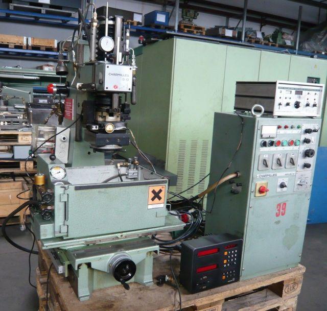 电火花成型加工机 CHARMILLES D10 Typ P12 1980