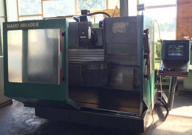 CNC Milling Machine MAHO Mh 600 E 1989