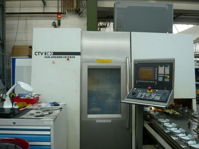 CNC-Drehmaschine DMG CTV 200 2001