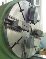 Heavy duty sorvi Tornio Parallelo 1350 x 7000 mm 1.350 x 7.000 mm