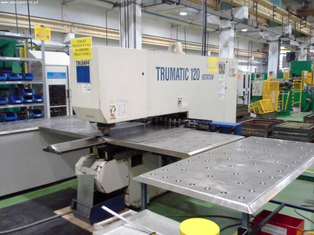 Wykrawarka TRUMPF TRUMATIC TC 120 ROTATION 1993