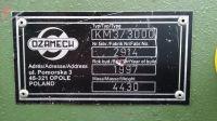 Masina de pliere de foi de metal OZAMECH KM3/3000 1997-Fotografie 4