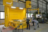 CNC вертикална струг Karussell BM3400R