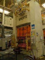 Prasa hydrauliczna wysięgowa SPIERTZ F2E 25x2.2 1990-Zdjęcie 3