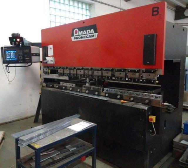 Prasa krawędziowa hydrauliczna CNC AMADA ITPS 8025 80 T 1991