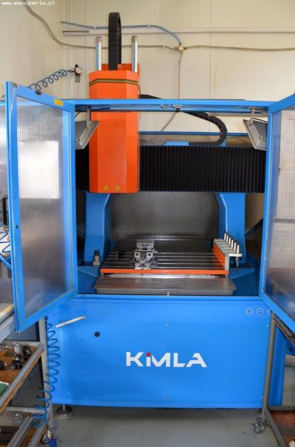 CNC Milling Machine KIMLA BFN 0805 2012