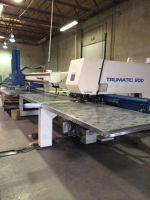 Turret Punching Machine with Laser TRUMPF TC200R BOSCH CNC