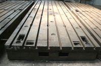 Horizontal Boring Machine Piani in Ghisa 2000 x 6000 mm 2 x 6 metri