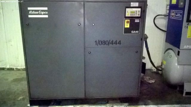 Sprężarka śrubowa ATLAS COPCO GA45 1996