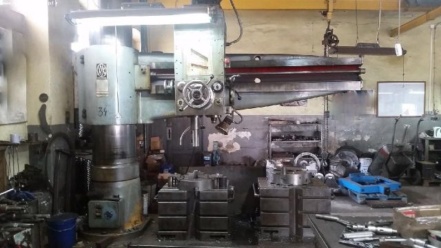 Radial Drilling Machine CSEPEL RFH 75/2000 1988