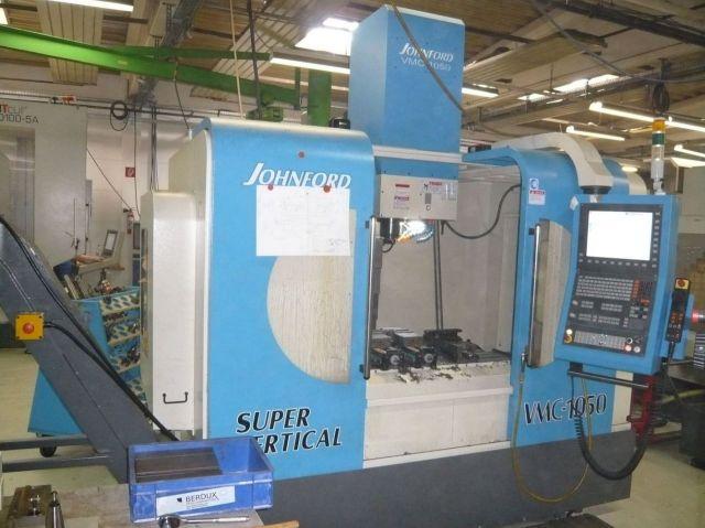 CNC Dreh-Fräszentrum JOHNFORD VMC 1050 2015