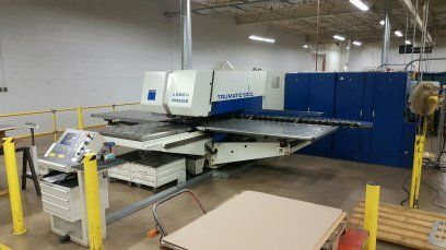 Turret Punching Machine with Laser TRUMPF TC600L SIEMANS 840D 2001