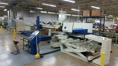 Turret Punching Machine with Laser TRUMPF TC500R-1300 1996