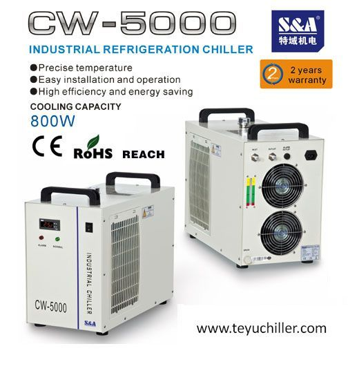 Piston Compressor Teyu CW-5000 2016
