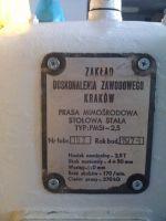Exzenterpresse ZDZ KRAKÓW PMS 2,5 T 1974-Bild 6