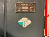 3 rullplatta bockmaskin BOLDRINI PIR / Y 600 x 100 1980-Foto 6
