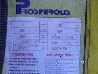 Prasa hydrauliczna bramowa PROSPERUS DH 500 2007-Zdjęcie 2