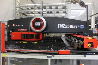 Turret Punching Machine with Laser AMADA EMZ3510NT 2008
