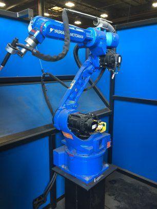 Spot Welding Machine YASKAWA MOTOMAN MH6 2012