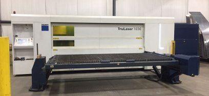2D Laser TRUMPF FIBER 1030 2012