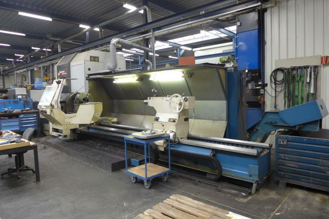 CNC Lathe TOS SU 150 CNC 2001
