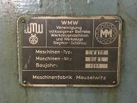Tokarka ciężka WMW MEUSELWITZ DW 500 1951-Zdjęcie 4
