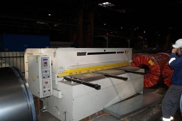 Nożyce gilotynowe mechaniczne ERMAK GMR 2600 x 4 2008