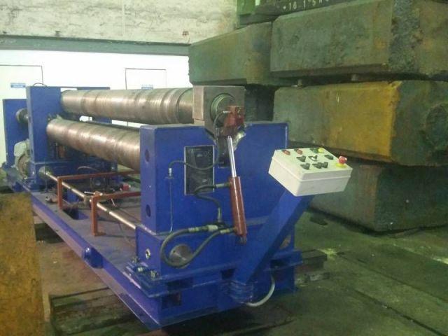 3-Walzen-Blecheinrollmaschine STROJARNE PIESOK XZMP 3150/12 2015