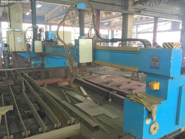 Gas Cutting Machine ZDIS GLIWICE YUN 4000-2 2004