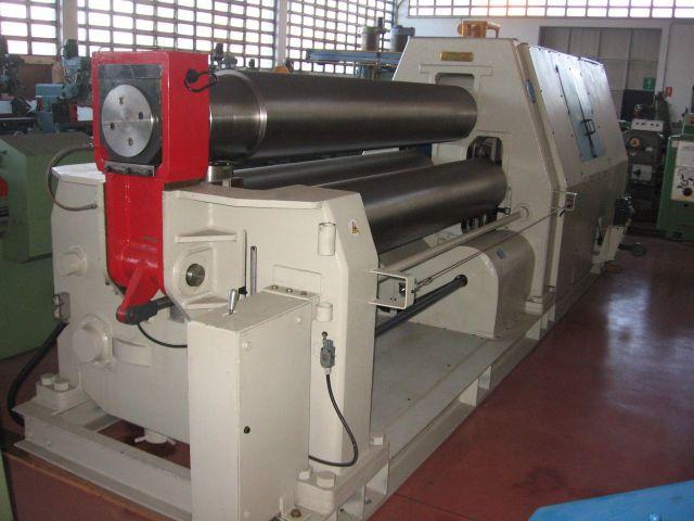 3-Walzen-Blecheinrollmaschine PARMIGIANI 25-30 1990