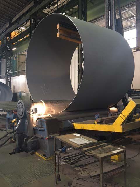 4 Roll Plate Bending Machine FACCIN 4HEL 1997