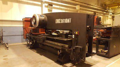 Turret Punching Machine with Laser AMADA EMZ3610NT MP1530 2010