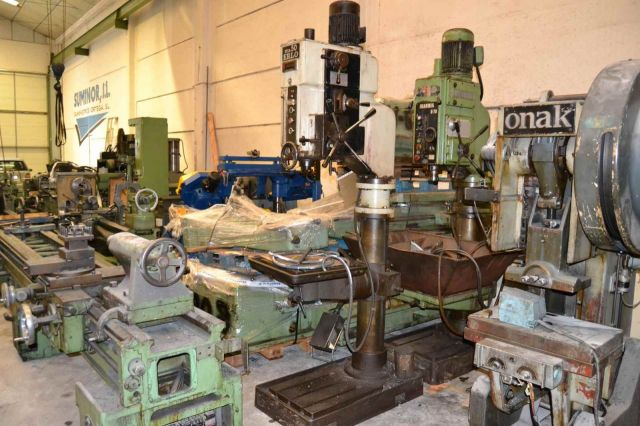 Column Drilling Machine ERLO TCA-50 1990