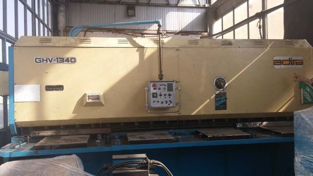 Hydraulic Guillotine Shear ADIRA GHV 1340 1986