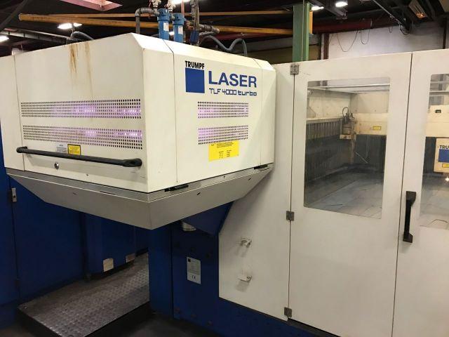 Laserschneide 2D TRUMPF L 3030 2001