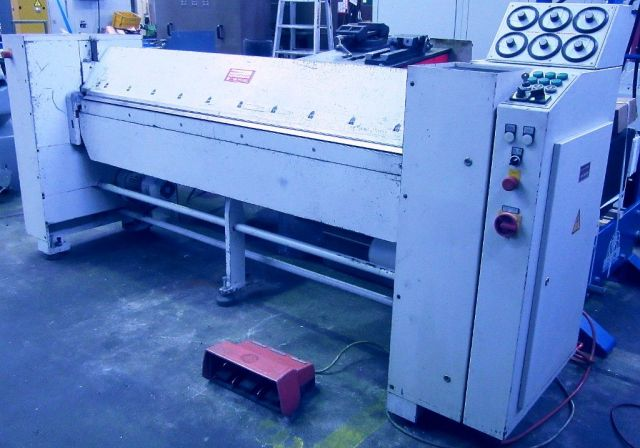 Folding Machines for sheet metal SCHROEDER MAKV  2000 x 2,0 1993