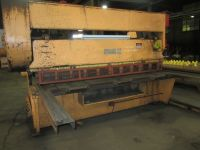 Mechanical Guillotine Shear STEELWELD 10 x 3/8 (owner/seller)