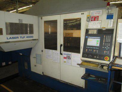 2D 레이저 가공기 TRUMPF TCL3030 2002