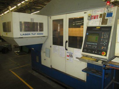 Laser de 2D TRUMPF TCL3030 2002
