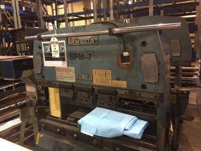 CNC 유압 프레스 브레이크 AMADA RG25 1980
