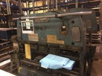 Prensa plegadora hidráulica CNC AMADA RG25