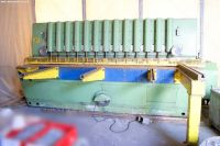 Mechanical Guillotine Shear WIEGER SWS 10/30/30 1970-Photo 2