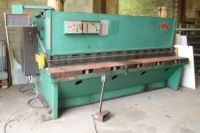 Cisaille guillotine hydraulique COLLY 1632A